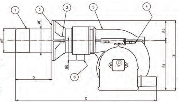 tbg60|tbg60p|燃气燃烧器|百得baltur